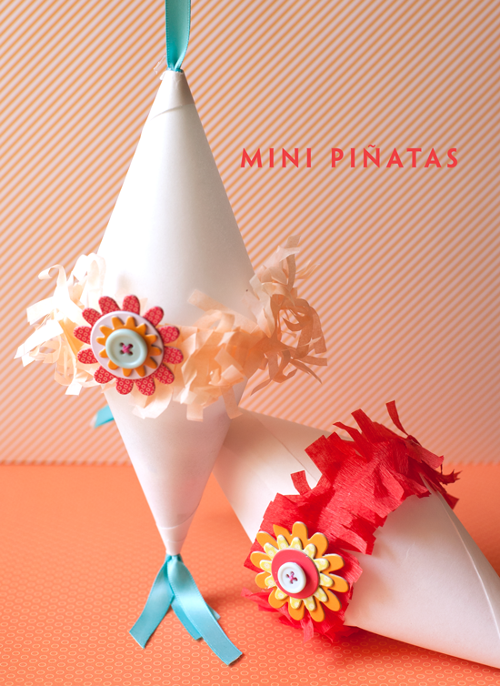Mini Pinatas from One Charming Party