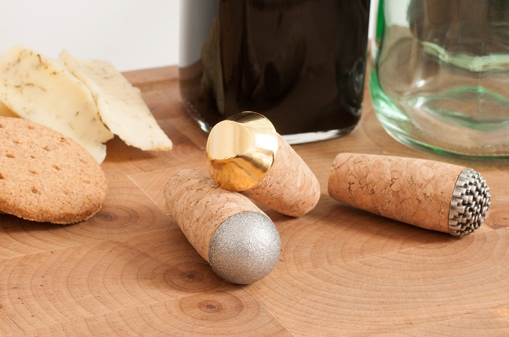 Buttoned Bottle Toppers