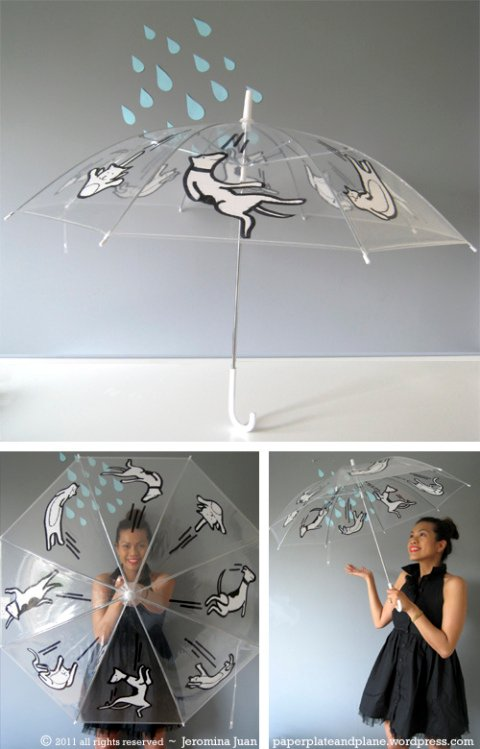 Raining Cats and Dogs Umbrella