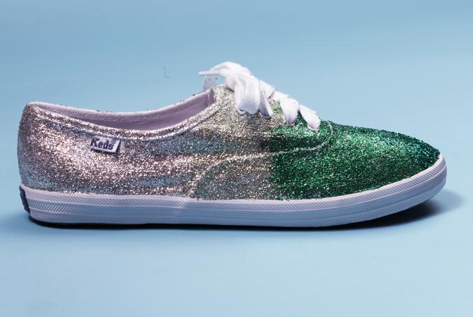 Glitter Sneaker from Teen Vogue