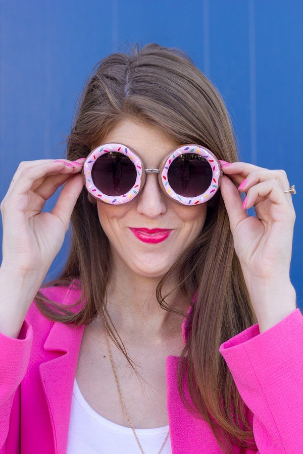 DIY Doughnut Sunglasses
