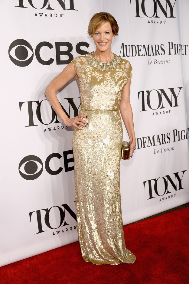 Anna Gunn at the 2014 Tony Awards