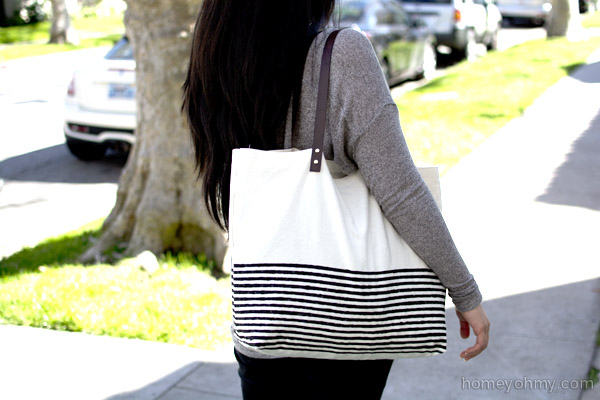 No-Sew-Canvas-Tote-Bag