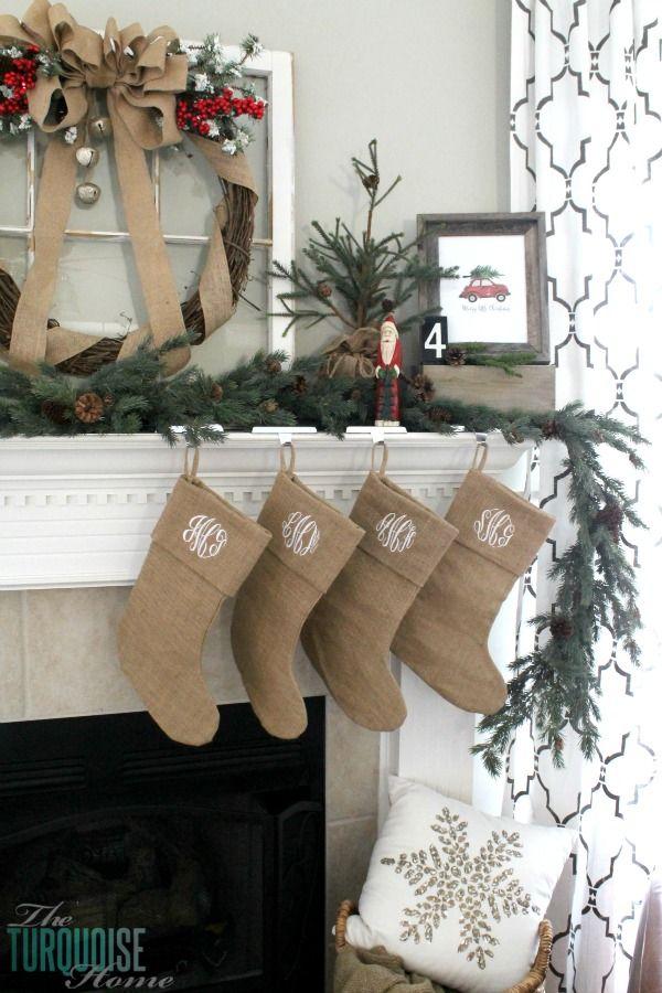 9059e97b9c09065c083d62a000c50935 - Rustic Christmas Stockings