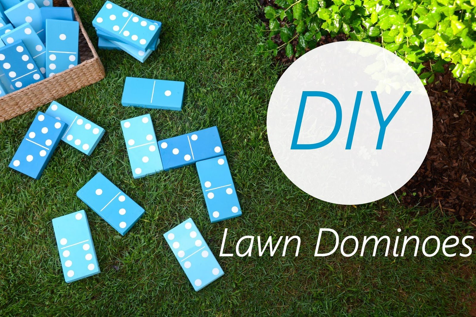DIY Lawn Game, Iron & Twine, Glidden Paint