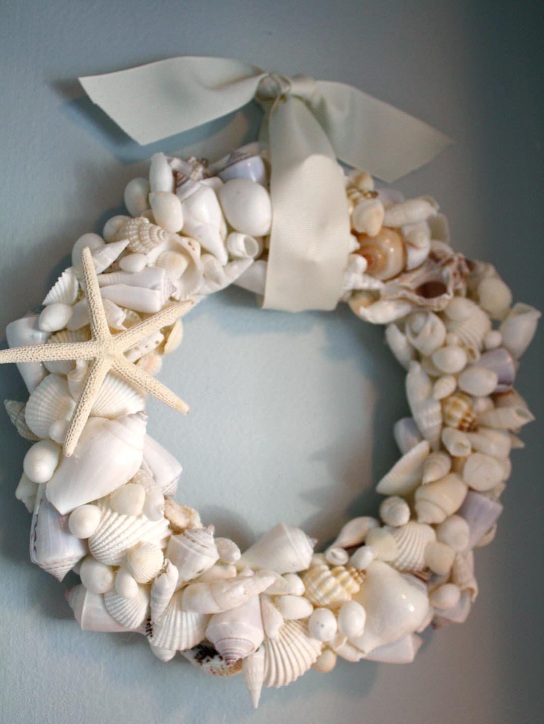 shell wreath 1