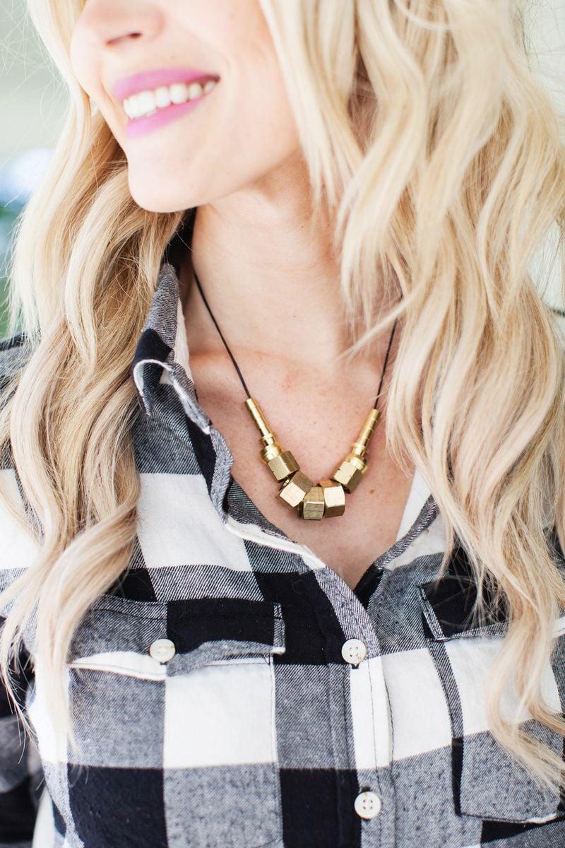 M&J Trimming - Hardware Necklace DIY