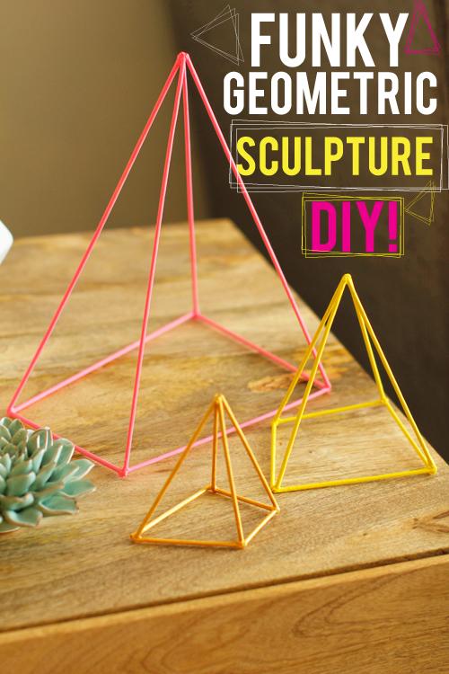 M&J Trimming - Geometric Scupture DIY