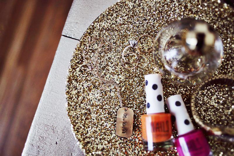 M&J Trimming: Glitter Jewelry Tray