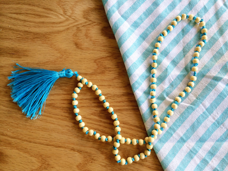M&J Trimming - Beaded Tassel Necklace