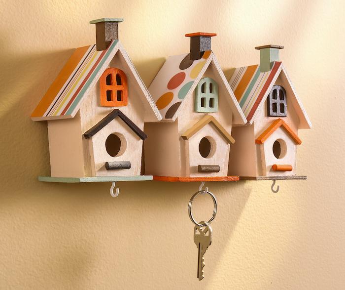 M&J Trimming - Birdhouse Key Holders