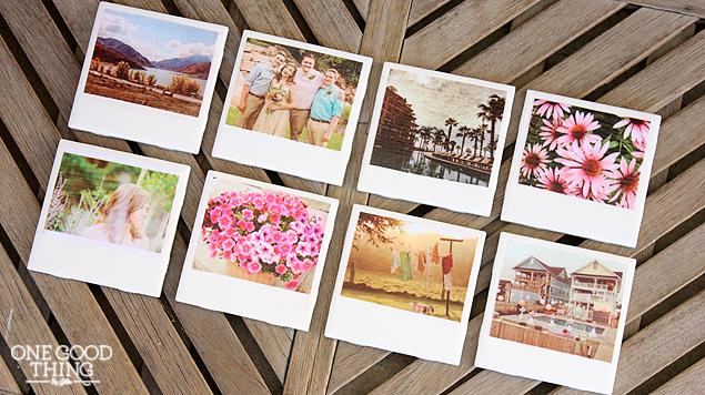 M&J Trimming - Polaroid Coasters