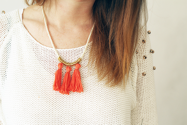 M&J Trimming - DIY Ring and Tassel Necklace