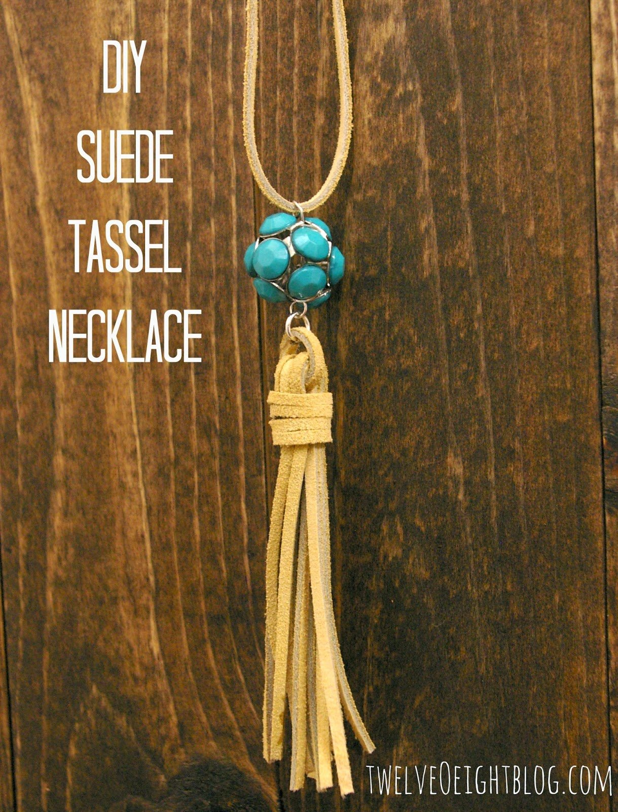 M&J Trimming - DIY Suede Tassel Necklace
