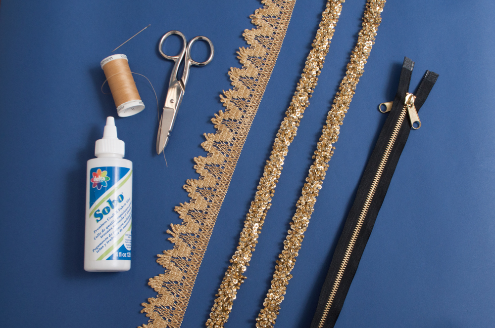 M&J Trimming: Zipper Necklace Materials