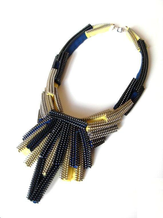 M&J Trimming - Zipper Necklace