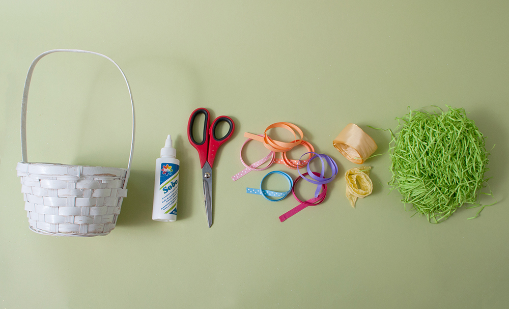 M&J Trimming: Spring Basket DIY Items