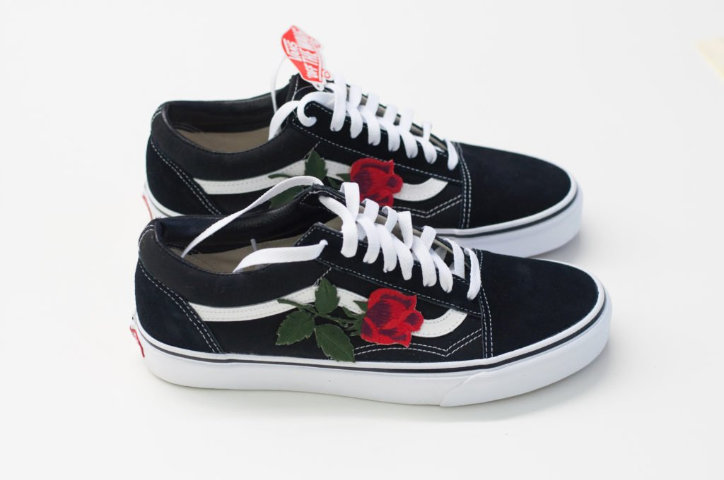 patch rose pour vans