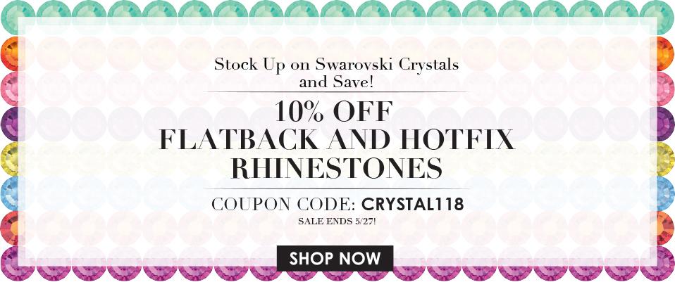 5/25/15 Rhinestone Sale