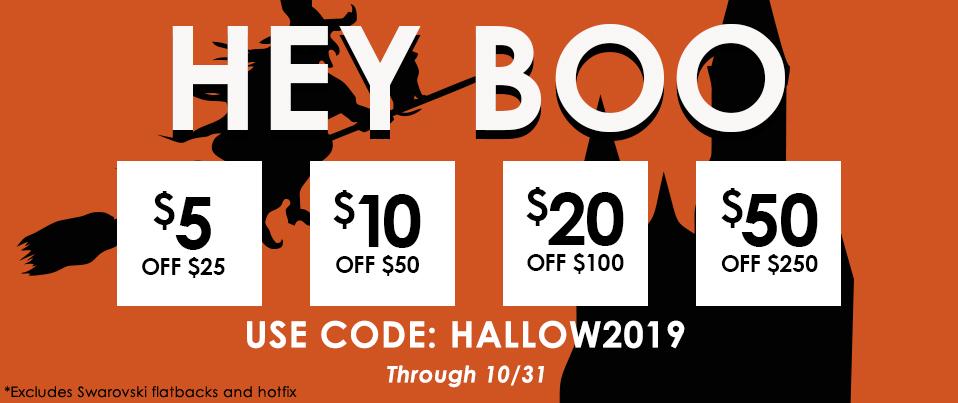10.1.18 Halloween Tiered Sale