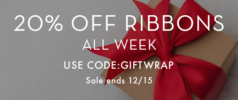 Ribbon Sale