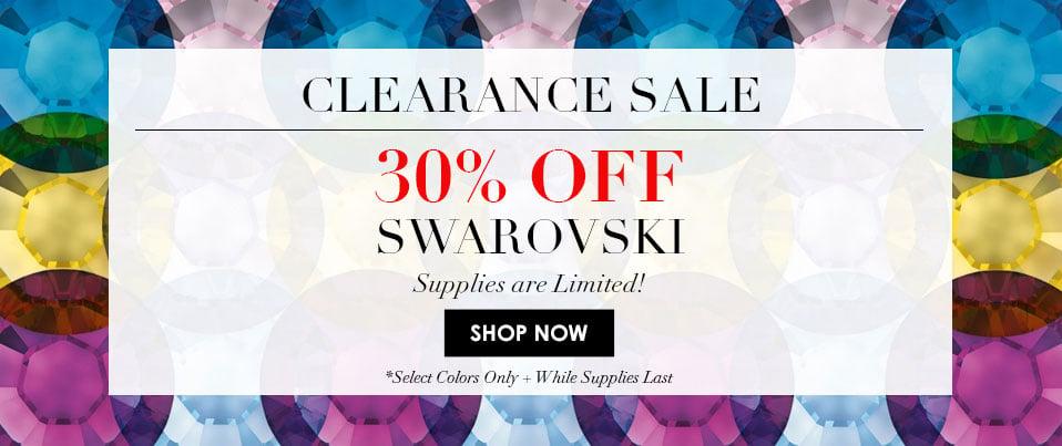 30% Off Swarovski Promotional Colors