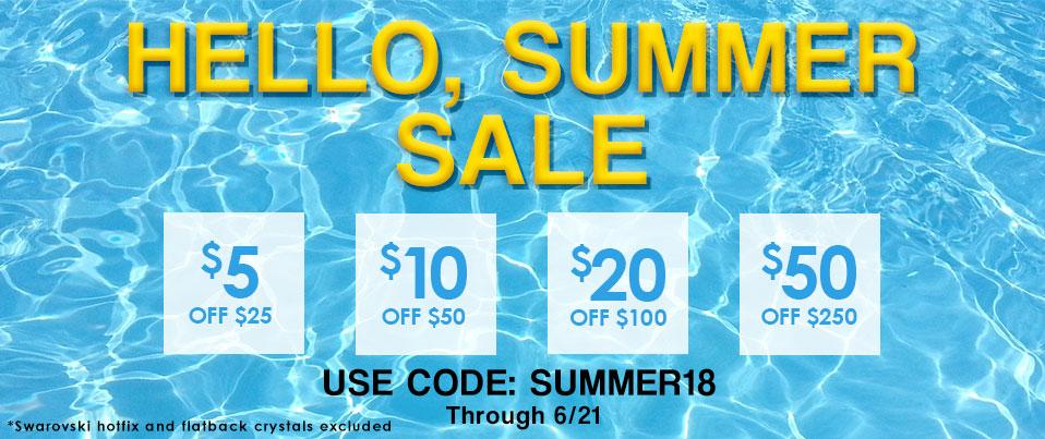 6.20.18 Summer Tiered Sale
