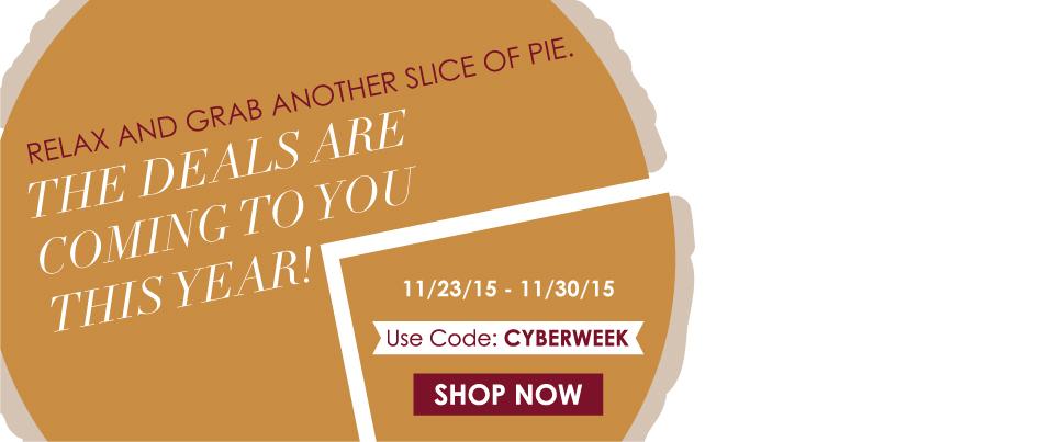 11/26/2015 Cyber Week Sale