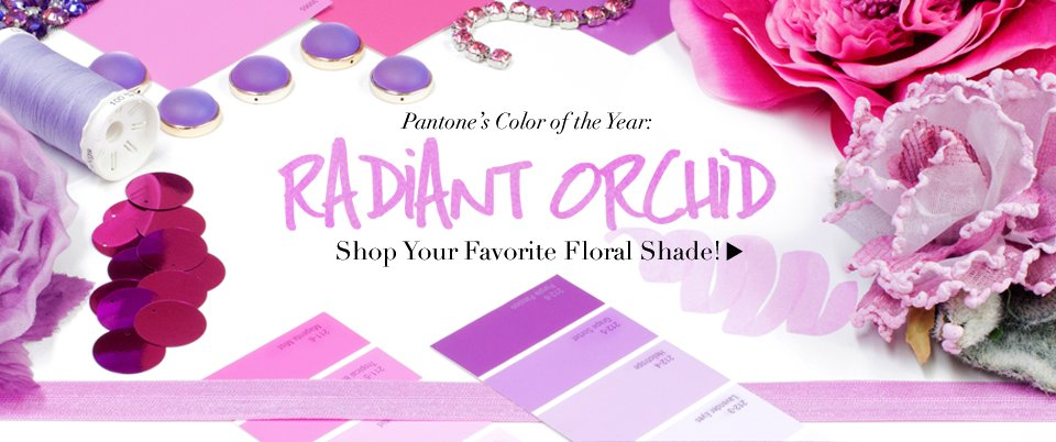 01/21/14_Featured Store: Color of the Year Radiant Orchid