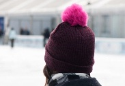 Our latest DIY: Pompom Hat