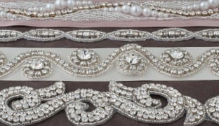 Stunning & Elaborate Rhinestone Trims | M&J Trimming