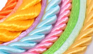 Nylon String Twist cord Twisted Soutache Braid Decorative Rope 2mm Green wire Kontting cord For BeadingJewelry MakingknottingBracelet