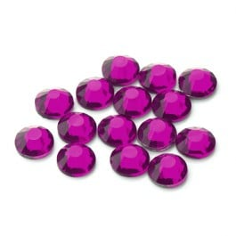 Brilliance Collection Fuchsia Flatback Rhinestone