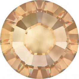Crystal Golden Shadow Swarovski Flatback Rhinestones