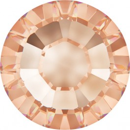 Light Peach Swarovski Hotfix Rhinestones