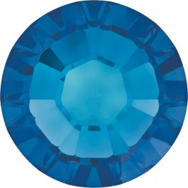 White Opal/Sky Blue Swarovski Hotfix Rhinestones