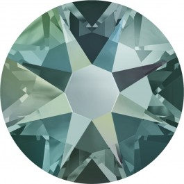 Black Diamond Shimmer Swarovski Flatback Crystal