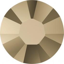 Swarovski Flatback Rhinestones - Crystal Metallic Light Gold