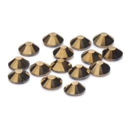 Brilliance Collection Gold Flatback Rhinestone