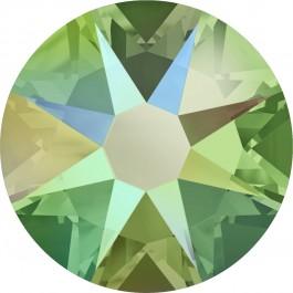 Peridot Shimmer Swarovski Flatback Crystal