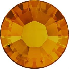 Swarovski Flatback Rhinestones - Tangerine