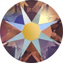 Topaz Shimmer Swarovski Flatback Crystal