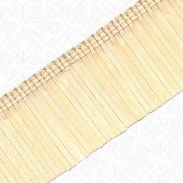 """2"""" Imported Ultra Suede Fringe - Ivory"""