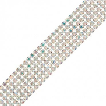 7/8 6-ROW RHINESTONE BLANKET