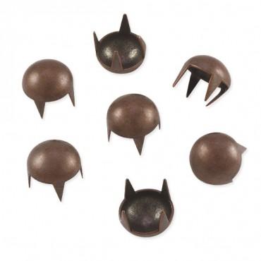 SS30 Dome Nailheads 4-Prong