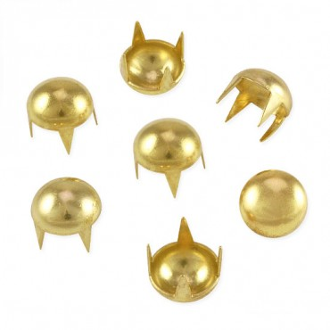 SS40 Dome Nailheads 4-Prong