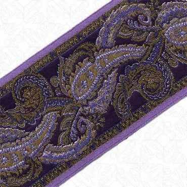 83MM IMPORTED  PAISLEY JACQUARD