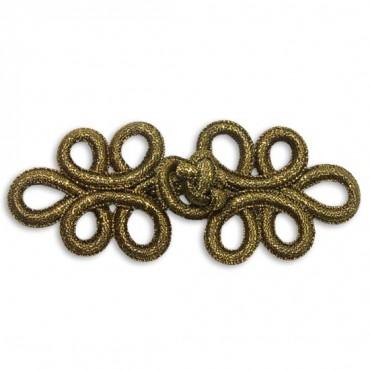 Fine Metallic Frog - Antique Gold