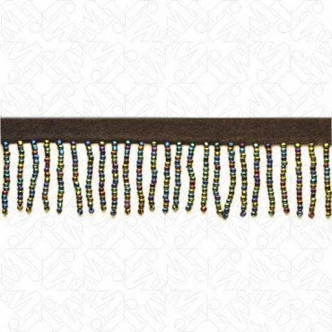 "1 3/8"" IMPORTED SEED BEADED FRINGE"
