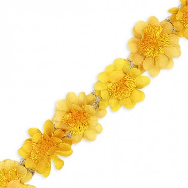 "1 1/4"" (32mm) Flower Trim"